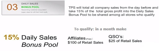 3rd way to get paid with TPS