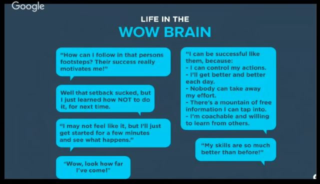 handling challenges in the wow brain