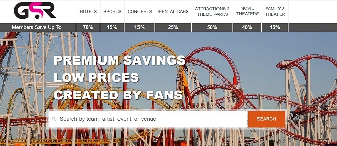 discount travel and events