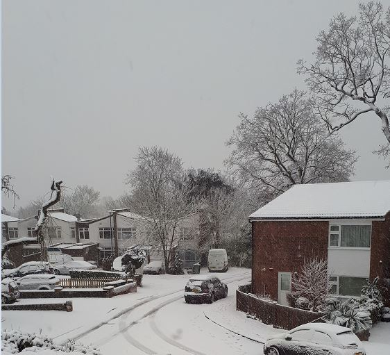 Snow In Harrow: So Counting My Blessings