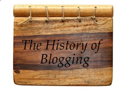 history of bloggin