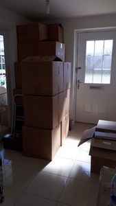 Stuff in boxes