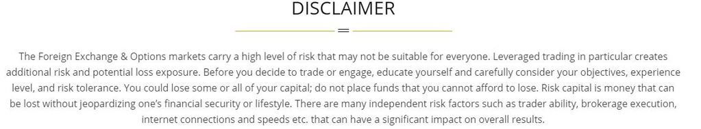 Forex Trading Risk Warning