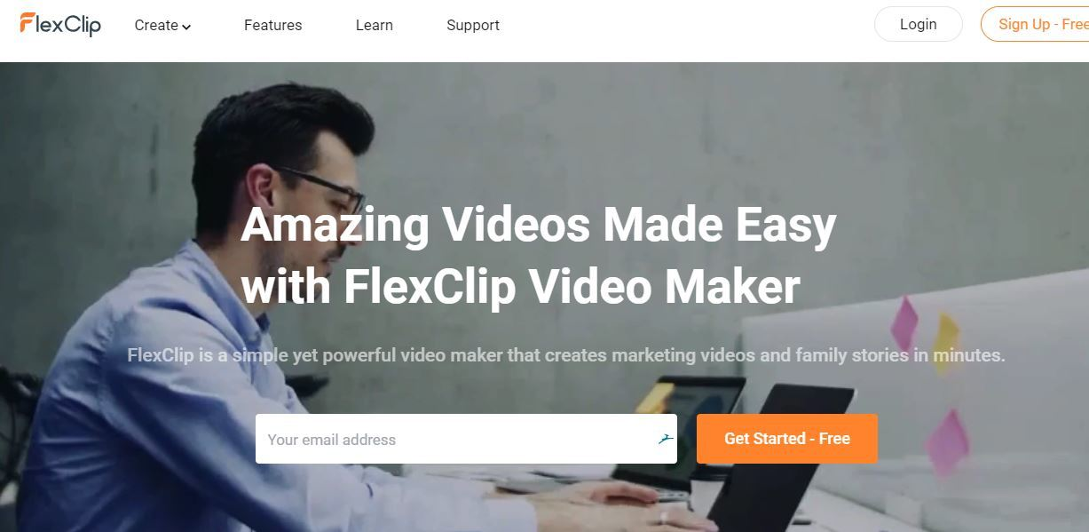 FlexClip Video Maker Login