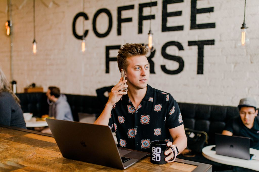 make money online from the cafe