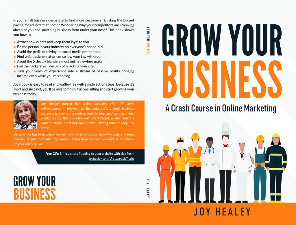 Grow Your Business - a crash course in online marketing is published on Amazon