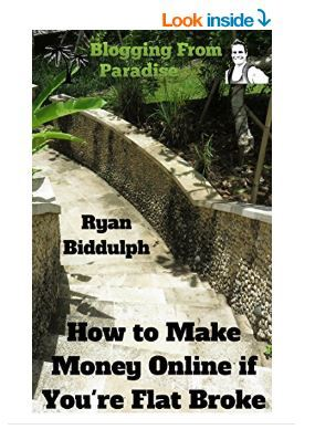 how to make money online when you are broke by Ryan Biddulph