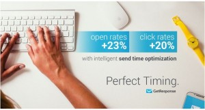 Timing emails with GetResponse
