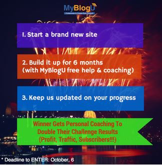 Start a New Site and Double Your Money