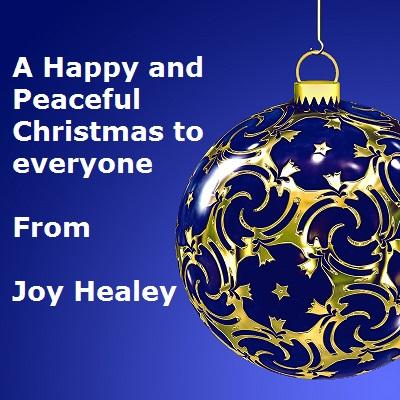 Happy Christmas 2016 From Joy Healey