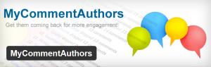 My Comment Authors